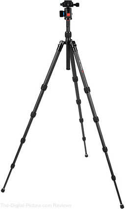 Oben CT-3521 Carbon Fiber Tripod With BE-106T Ball Head - $189.95 Shipped (Reg. $379.95)
