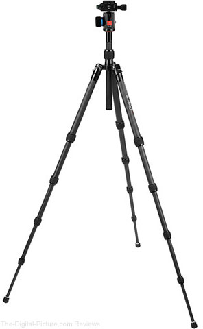 Oben CT-3531 Carbon Fiber Tripod With BE-108T Ball Head - $169.95 Shipped (Reg. $399.95)