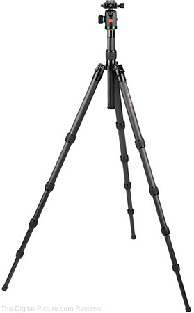 Oben CT-3581 Carbon Fiber Travel Tripod with Ball Head - $249.95 Shipped (Reg. $349.95)