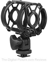Pearstone DUSM-1 Universal Shock Mount for Camera Shoes