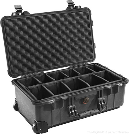 Pelican 1510-004-110 Case with Padded Dividers