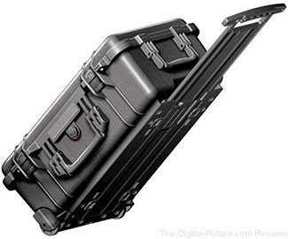 Pelican 1510 Carry On Watertight Hard Case with Foam Insert & Wheels - $109.95 Shipped (Reg. $149.95)