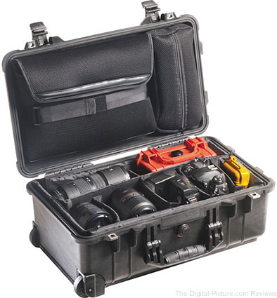Pelican 1510SC Studio Case with Divider Set, Lid Organizer, TSA Lock, Desiccant Gel - $199.00 Shipped (Reg. $269.00)