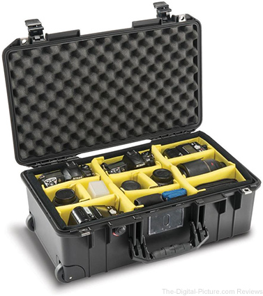 Pelican 1535WD Air Wheeled Carry-On Case with Padded Dividers - $229.95 Shipped (Reg. $288.75)