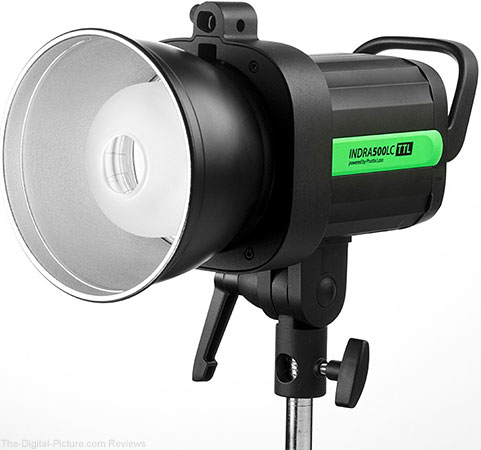 Phottix Announces Indra500LC TTL Studio Light with Canon RT Support