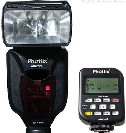 Phottix Mitros+ TTL Flash and Odin Flash Trigger Combo - $349.99 Shipped (Reg. $549.99)