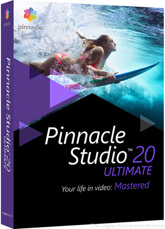 Pinnacle Studio 20 Ultimate - $49.95 Shipped (Reg. $129.95)