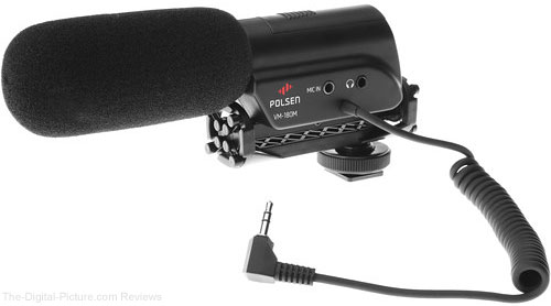 Polsen VM-180M DSLR Video Microphone