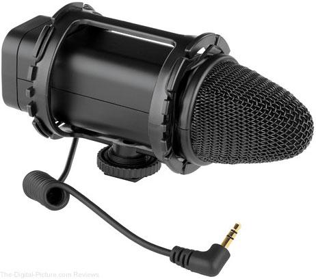 Polsen VMS-1080 Stereo DSLR/Video Condenser Microphone - $79.95 Shipped (Reg. $99.95)