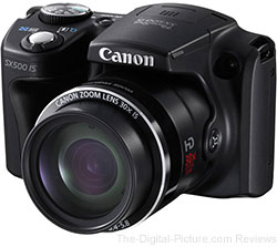 Canon PowerShot SX500 IS Digital Camera - $193.33 (Compare at $219.00)