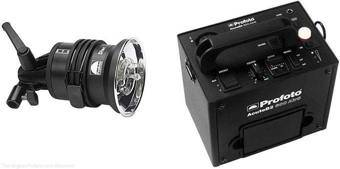 Profoto AcuteB2 600Ws AirS LiFe Power Pack with Lamp Head - $1,499.00 Shipped (Reg. $2,374.00)