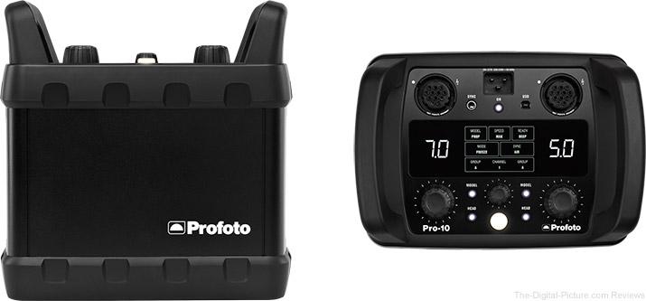 Profoto Announces Pro-10, the World's Fastest Flash