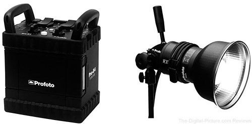 Profoto Pro-B4 1000 Air Generator with ProHead Plus
