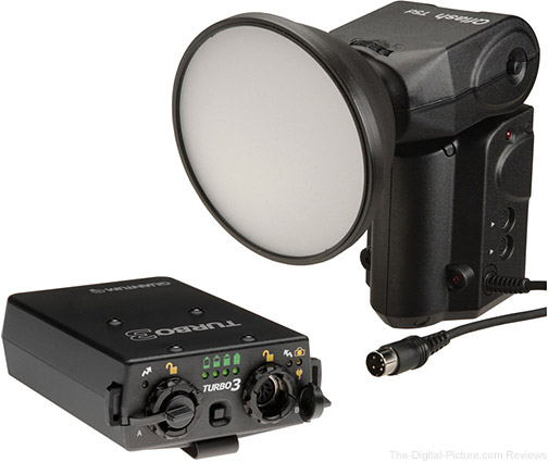 Quantum Qflash T5D-R TTL Flash w/ Turbo 3 Rechargeable Battery Kit - $1,005.00 Shipped AR (Reg. $1,330.00)