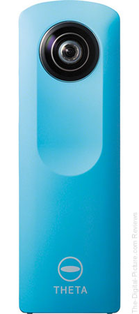Ricoh Theta M15 360 Degree Spherical Panorama Camera (Blue) - $153.00 Shipped (Compare at $246.95)