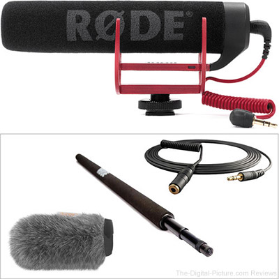 Rode VideoMic Go with Micro Boompole & Windbuster Kit - $149.95 Shipped (Reg. $186.95)