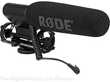 Rode VideoMic Shotgun Microphone - $119.00 Shipped (Reg. $149.00)