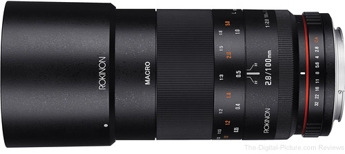 Amazon Prime Day Deal: Rokinon 100mm f/2.8 ED UMC Macro for Canon - $439.20 Shipped (Reg. $549.00)