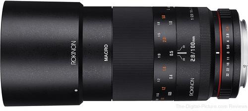 Rokinon 100mm f/2.8 Macro Lens