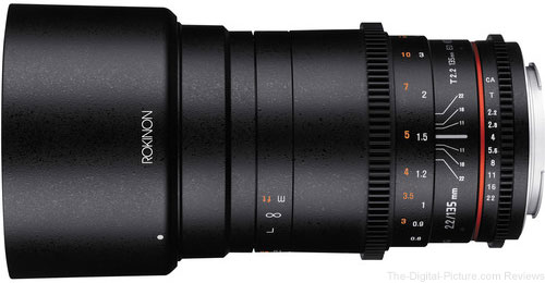 Rokinon 135mm T2.2 Cine DS Lens