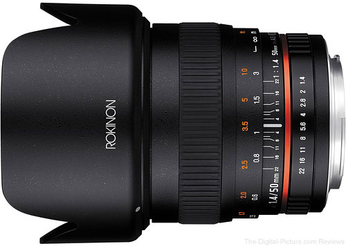 Rokinon 50mm f/1.4 AS IF UMC Lens - $299.00 Shipped (Reg. $399.00)