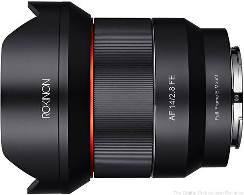 Rokinon 14mm f/2.8 FE Lens for Sony E- $499.00 (Reg. $849.00)