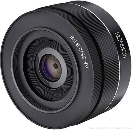 Rokinon 35mm f/2.8 FE Lens for Sony E - $349.00 Shipped (Reg. $399.00)