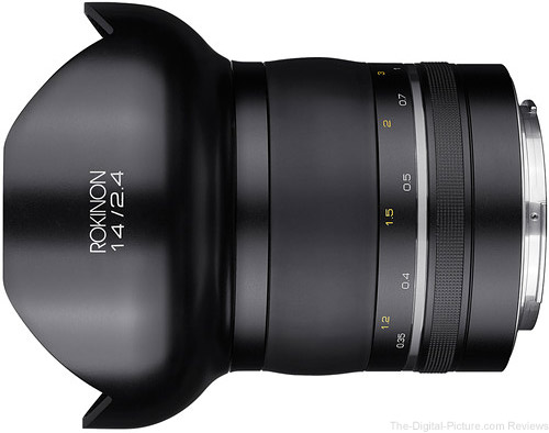 Rokinon SP 14mm f/2.4 Lens for Canon- $799.00 Shipped (Reg. $999.00)