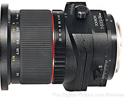 Rokinon 24mm f/3.5 Tilt Shift Lens