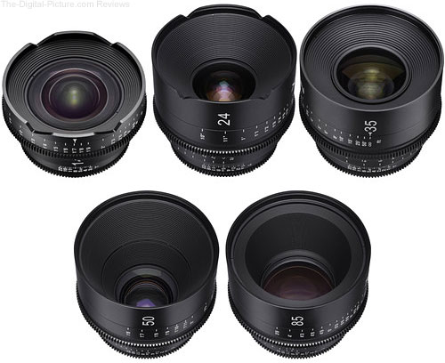 Save $2,476.00 on the Rokinon XEEN 5-Lens Set