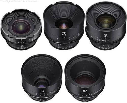 Save $2,476.00 on the Rokinon XEEN 5-Lens Set