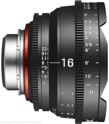 Rokinon Xeen 16mm T2.6 Lens Available for Preorder