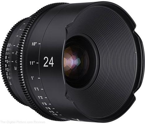 Rokinon Xeen 24mm T1.5 Lens for Canon EF Mount - $2,145.00 Shipped (Reg. $2,495.00)