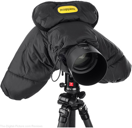 Ruggard DSLR Parka Cold and Rain Protector for Cameras and Camcorders (Black) - $39.95 Shipped (Reg. $79.95)
