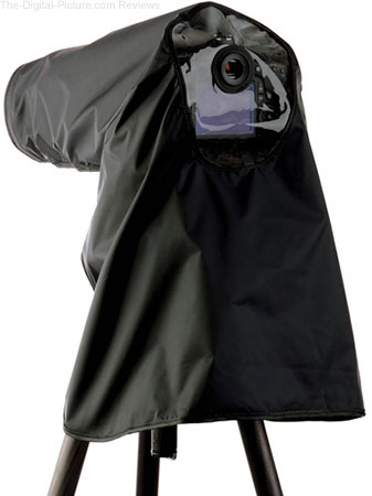 Ruggard Fabric Camera Rain Cover (Black) - $29.95 with Free Shipping (Reg. $69.95)