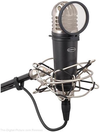 "Samson MTR101A 1"" Diaphragm Studio Condenser Microphone - $49.99 Shipped (Reg. $119.99)"