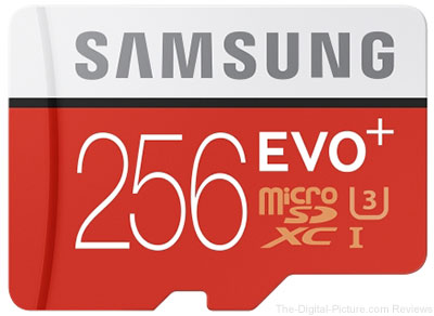 Samsung Introduces the EVO Plus 256GB MicroSD Card