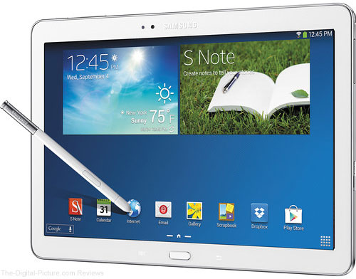 "Samsung 32GB Galaxy Note 2014 Edition 10.1"" Wi-Fi Tablet (White) - $329.00 Shipped (Compare at $499.00)"