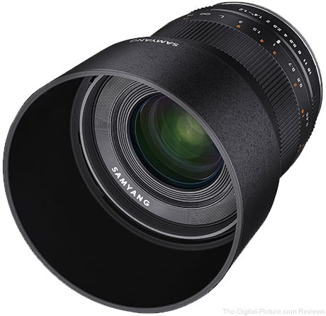 Samyang Unveils 35mm f/1.2 ED AS UMC CS Lens