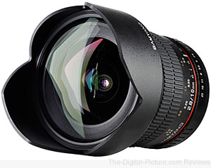 Samyang 10mm f/2.8 ED AS NCS CS Lens - $459.00 (Compare at $491.00)