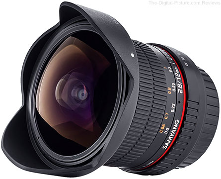 Samyang 12mm f/2.8 ED AS NCS Fisheye lens