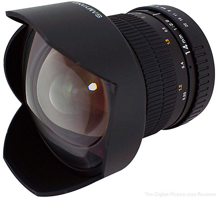 Amazon Lightning Deal: Samyang 14mm f/2.8 IF ED UMC for Canon - $269.99 (Compare at $319.00)