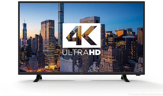"""42"""" LED 4K Digital Picture Frame - $249.99 (Reg. $899.99)"""
