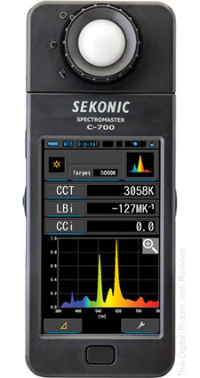 Sekonic C-700 SpectroMaster Spectrometer Featured in Latest Explora Article