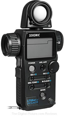 Sekonic L-758Cine DigitalMaster Light Meter (CE) - $519.00 (Compare at $822.00 US)