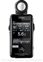 Sekonic Lightmaster Pro L-478DR Touch-Screen Light Meter - $359.00 (Compare at $469.00)