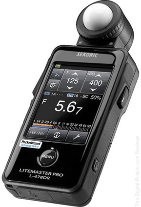 Sekonic Litemaster Pro L-478DR Light Meter - $299.00 with Free Shipping (Reg. $399.00)