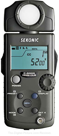 Sekonic Prodigi Color C-500R Color Meter with Triggering Module - $1,198.00 Shipped (Reg. $1,338.00)