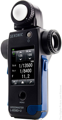 Sekonic Introduces Speedmaster L-858D Light Meter