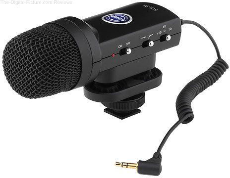 Senal SCS-98 DSLR/Video Stereo Microphone - $84.95 Shipped (Reg. $184.95)